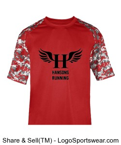 HCS Tech Tee (Men's) Design Zoom