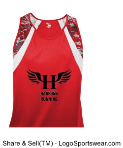 HCS Wing Singlet (Men's) Design Zoom