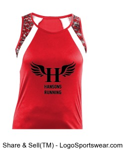 HCS Wing Singlet (Women's) Design Zoom